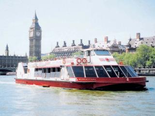 River Thames Sightseeing Cruise - River Red Rover Hopper Ticket
