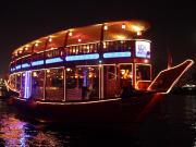 Evening Dhow Dinner Cruise on Dubai Creek