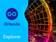 Go Orlando Explorer Pass Save up to 40% off retail prices on admission to 4 attractions...