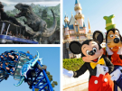 A Fun-Filled Theme Park Holiday in California