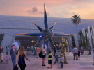 Sneak Peek at Disney's New Guardians of the Galaxy Coaster