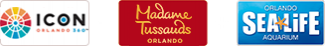 Experience 3 Iconic Orlando Attractions on Us!  logo