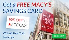 FREE Macys Savings Card