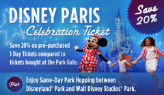 Disney Paris Celebration Ticket Offer