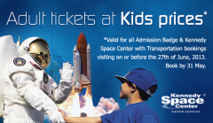 Exclusive Kennedy Space Center Offer