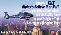 Exclusive New York Helicopter Flight Ticket Offer