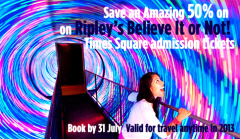 SAVE OVER 50% on Ripley's Believe it or Not tickets!