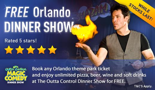 Free Orlando Dinner Show Tickets - Whilst Stocks Last