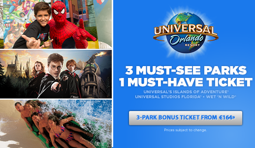 Great Value Universal Orlando Tickets in Ireland