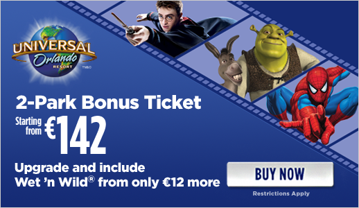 Great Value Universal Orlando Tickets in Ireland