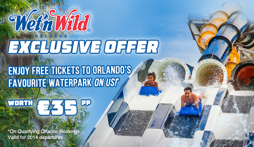 SUMMER EXCLUSIVE - Enjoy Admission to Wet 'n Wild® for FREE!