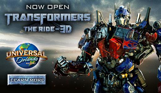 TRANSFORMERS™: The Ride-3D - Now Open at Universal Orlando Resort