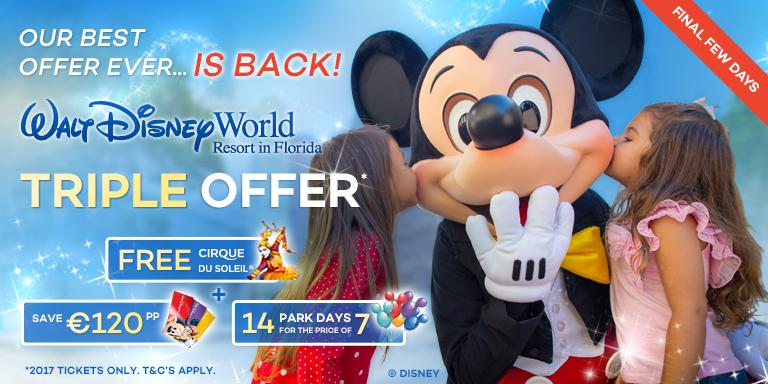 FREE Tickets for the amazing Cirque du Soleil with Walt Disney World Tickets
