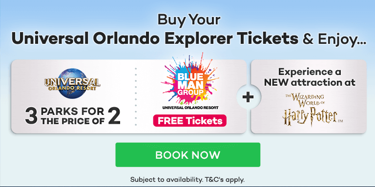 FREE Tickets for the spectacular Blue Man Group Orlando show worth €50!