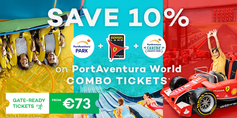 SAVE up to 10% at PortAventura World