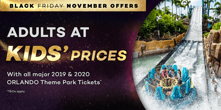 Adults at Kids' Prices Black November Sale