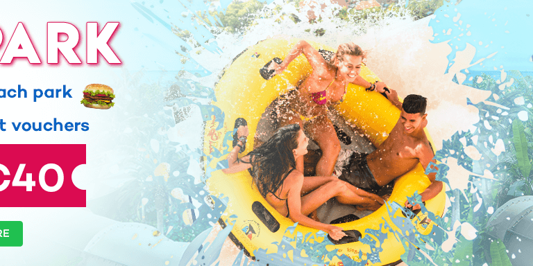 FREE BURGER with every Siam Park Day Ticket