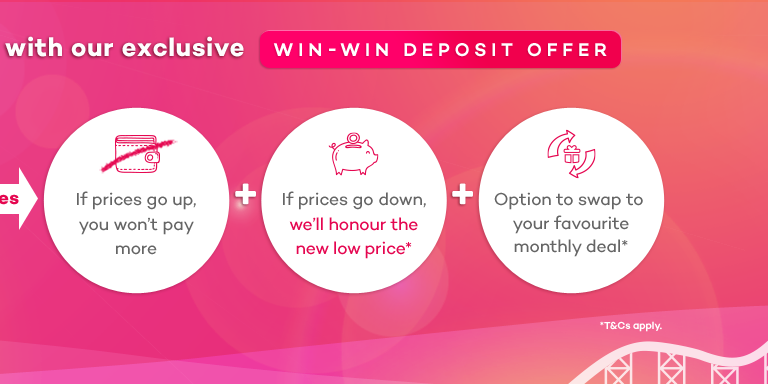 Exclusive Win-Win Deposit Offer