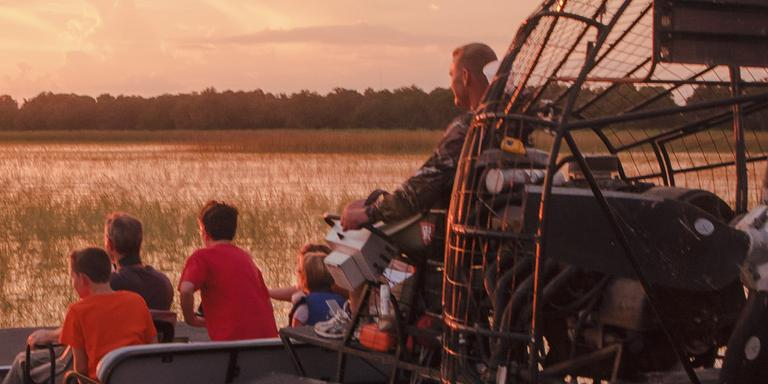Adults at Kids prices for Boggy Creek Orlando Airboat Ride