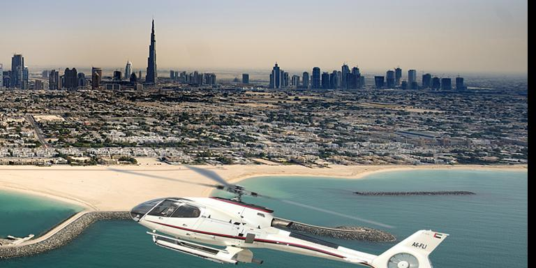 Dubai Helicopter Sightseeing Flight with Free Burj Khalifa Ticket