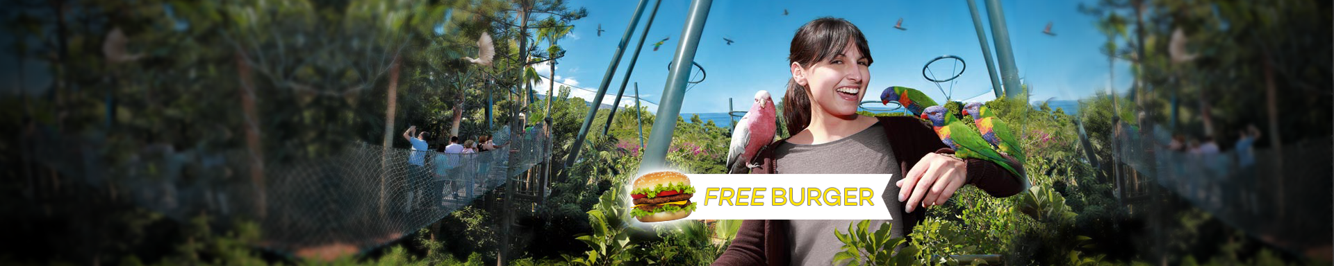 ATD EXCLUSIVE - Free Burger with every Loro Parque Ticket logo