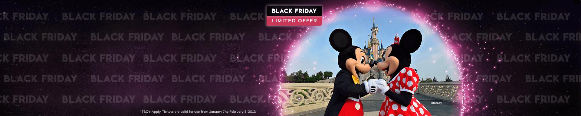 Black Friday Limited Offer -  Disneyland Paris
